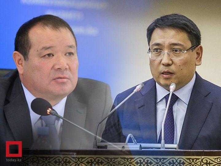 Каирбек Ускенбаев и Ерболат Досаев