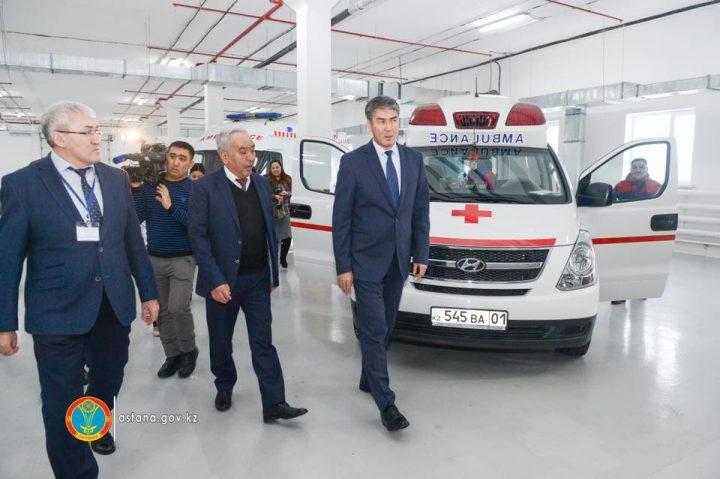 Асет Исекешев и скорая помощь, неотложка