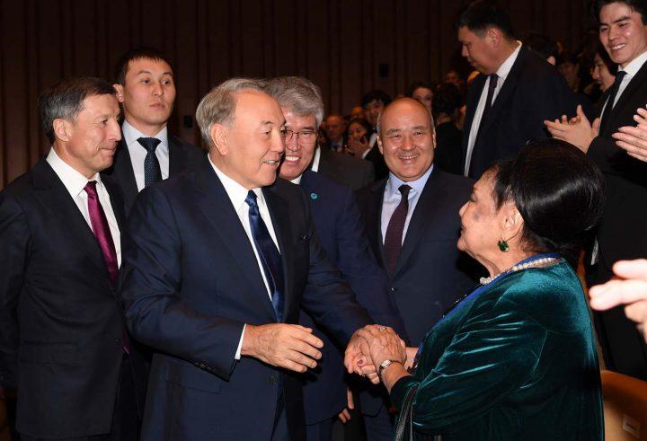 "Назарбаев на открытии театра ""Астана Балет"""