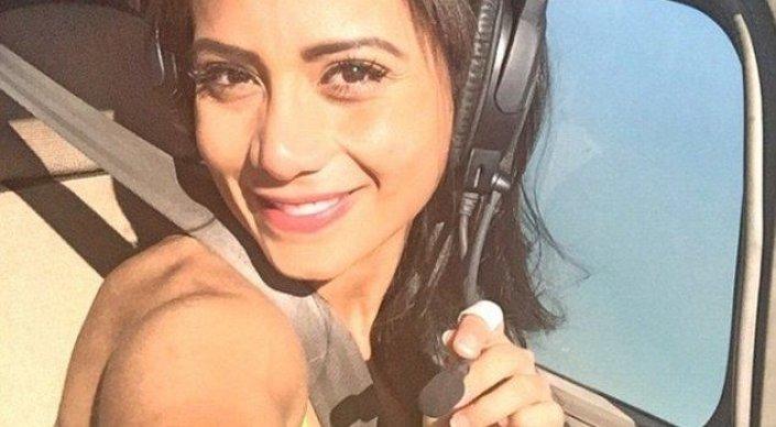 Девушка-пилот сняла видео перед своим первым полетом— Авиакатастрофа вКолумбии