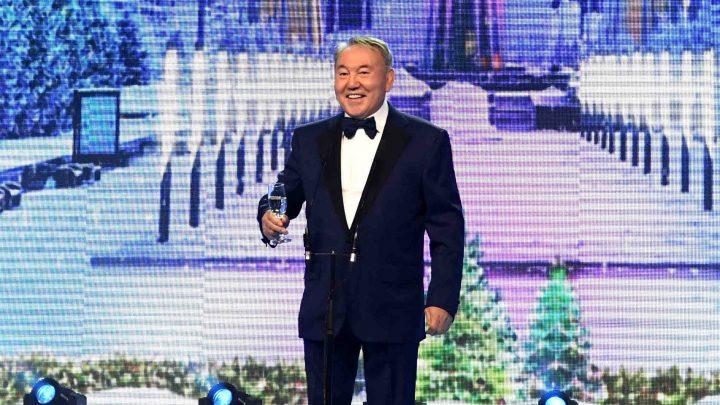 назарбаев на благотворительном балу 2016