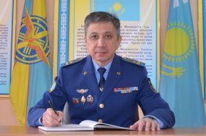 полковник Серик Исмаилов