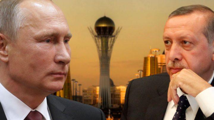 В.Путин и Р.Эрдоган
