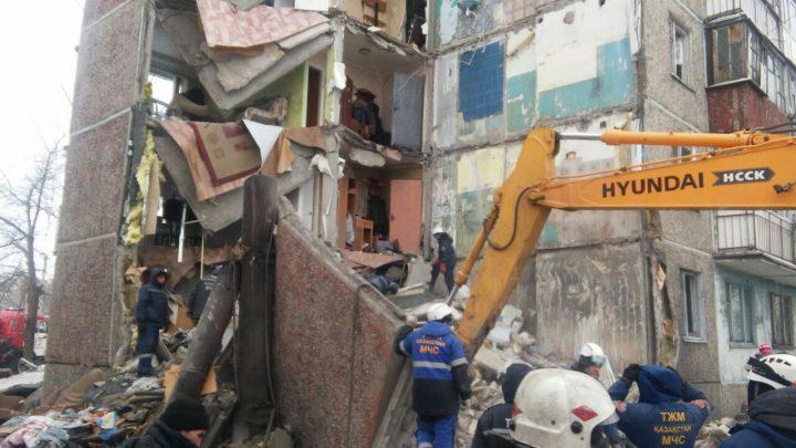 обрушение дома в Шахтинске
