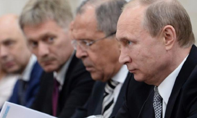 Путин, Лавров, Песков