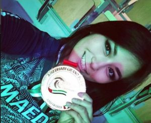 спортсменка, джиу-джитсу