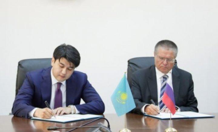 Куандык Бишимбаев и Алексей Улюкаев