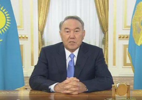 Нурсултан Назарбаев выступит со особым обращением ксвоему народу
