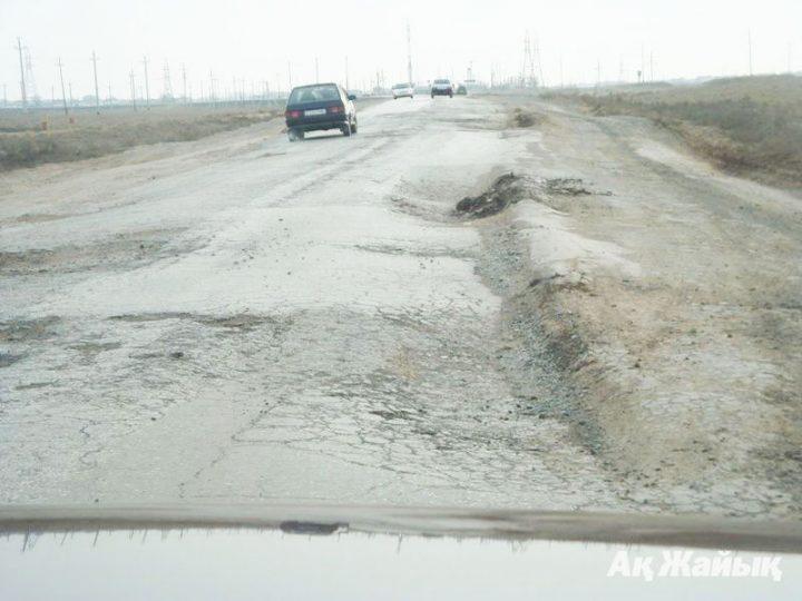Автодорога Актобе-Атырау