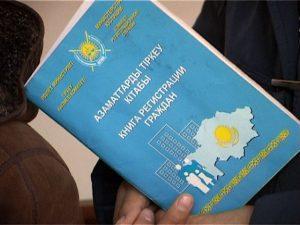 книга регистрации граждан