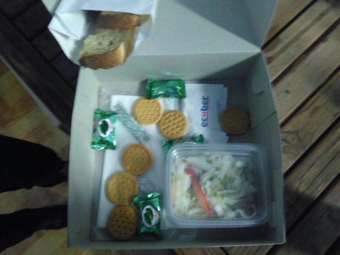 еда для волонтеров