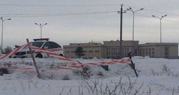 Место падения мальчика в колодец. Астана