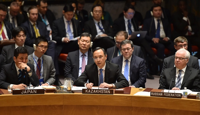 Делегация РК на дебатах Совбеза ООН
