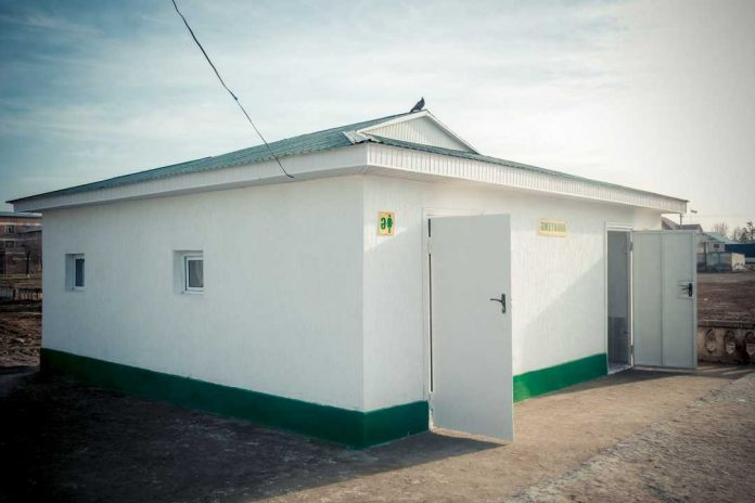 Туалет в Жетысае