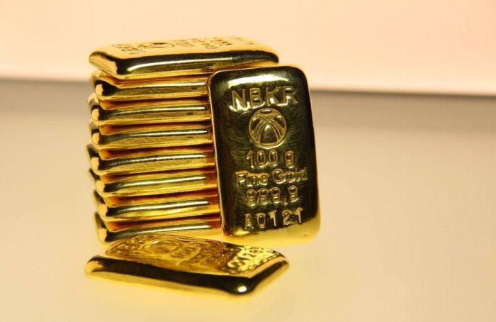 золото в слитках, Кыргызстан