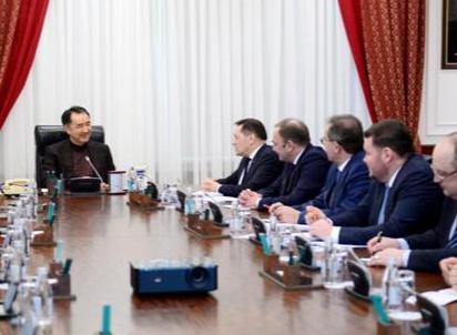 """Сагинтаев встретился с руководителем """"Росатома"""""""