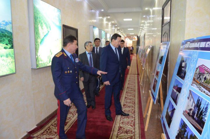 Глава МВД посетил Алматинскую область