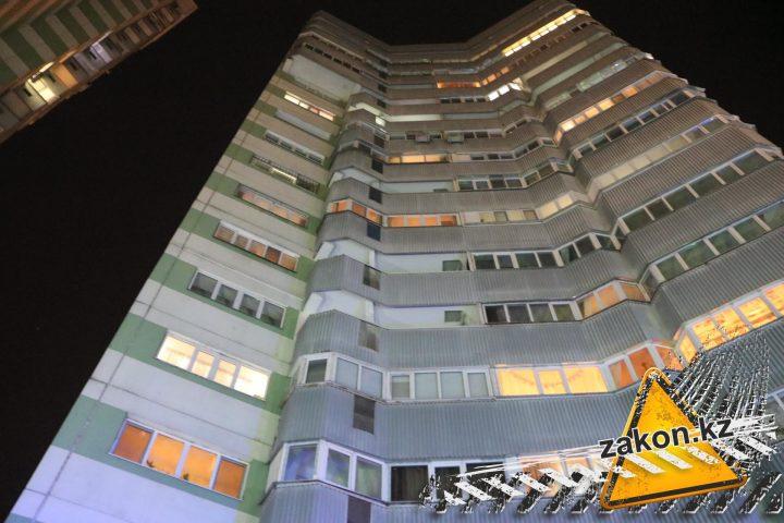 многоэтажка в Алматы