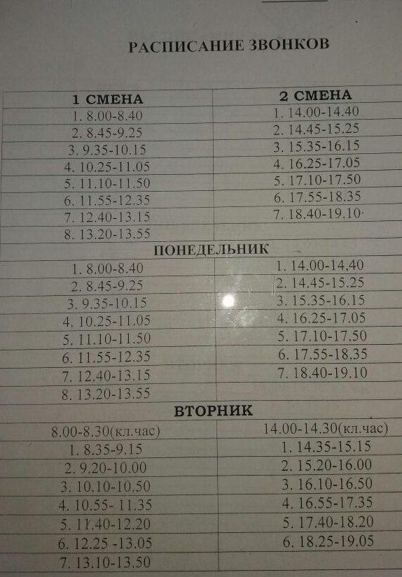 Алматинские дети учатся по 8-9 уроков