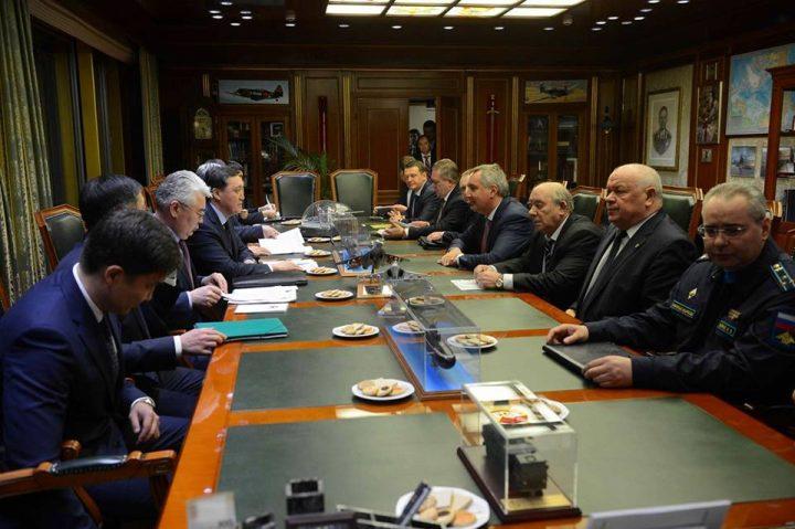 Рогозин ивице-премьер Казахстана обсудили общие проекты вОПК
