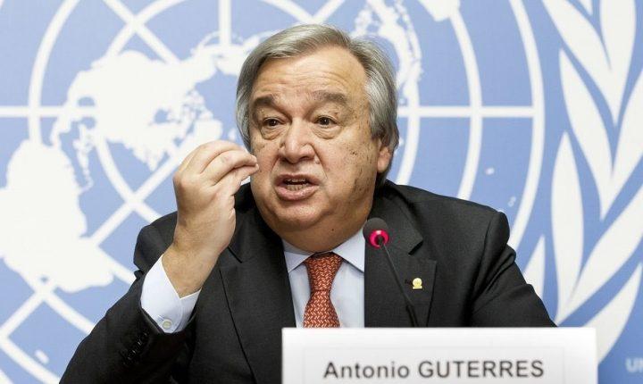 Генеральный секретарь ООН призвал отменить ограничения на заезд вСША