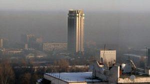 воздух Алматы, загрязнение воздуха