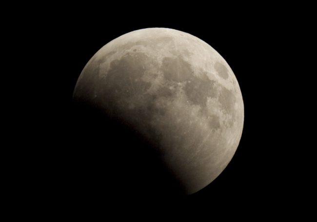 Люберчане смогут рассмотреть полутеневое затмение луны