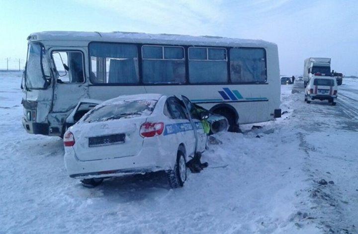 Павлодарские полицейские пожертвовали собой для спасения детей