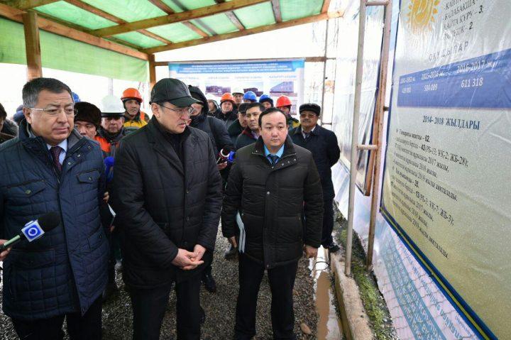министр сельского хозяйства и аким ЮКО