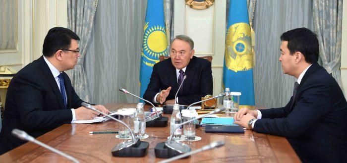 Назарбаев и Бозумбаев