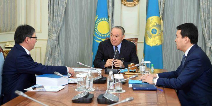 Назарбаев и Сагадиев