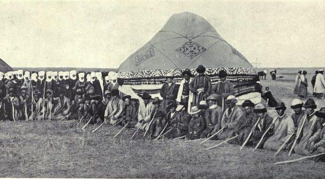Похороны кыргыза. Начало XX века