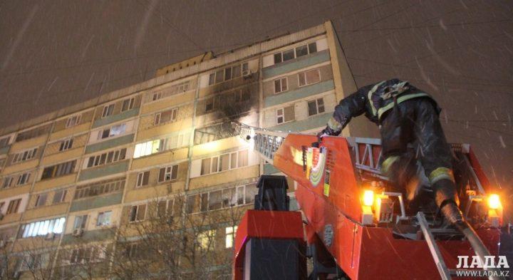 пожарные, Актау
