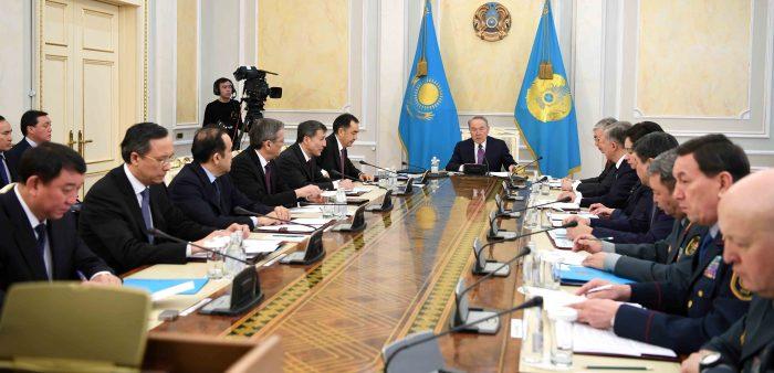 Назарбаев проводит заседание совбеза РК