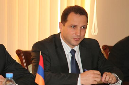 Замминистра обороны Армении назначен главой МЧСРА