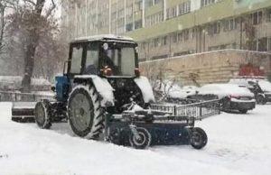 снегоуборочные работы в Алматы