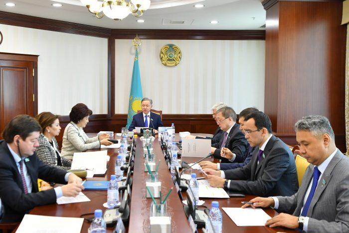 заседание бюро мажилиса 24 февраля
