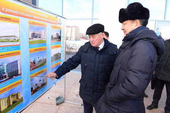 Премьер в Актюбинской области