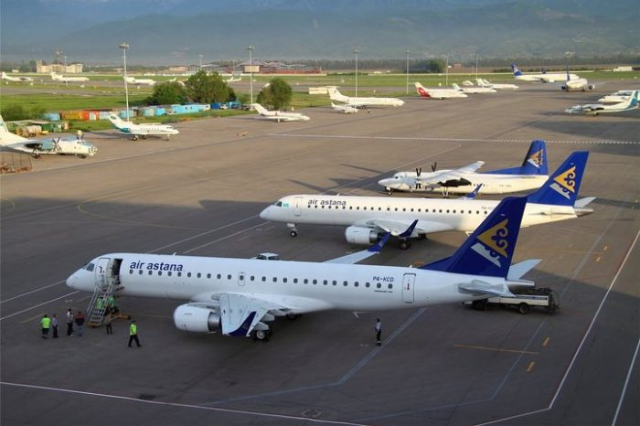 Самолеты Air Astana