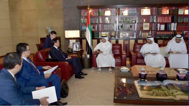 Встреча казахстанской делегации в ОАЭ