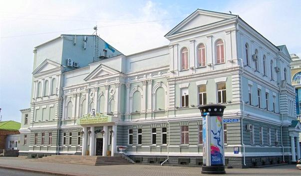Государственный академический русский театр драмы имени М. Горького в Астане