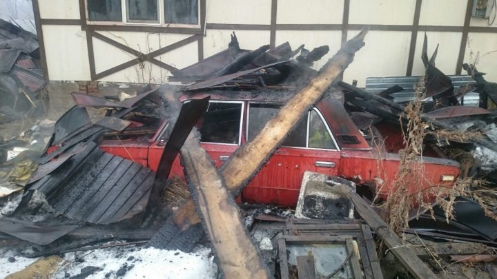 автомобиль сгорел в алматы