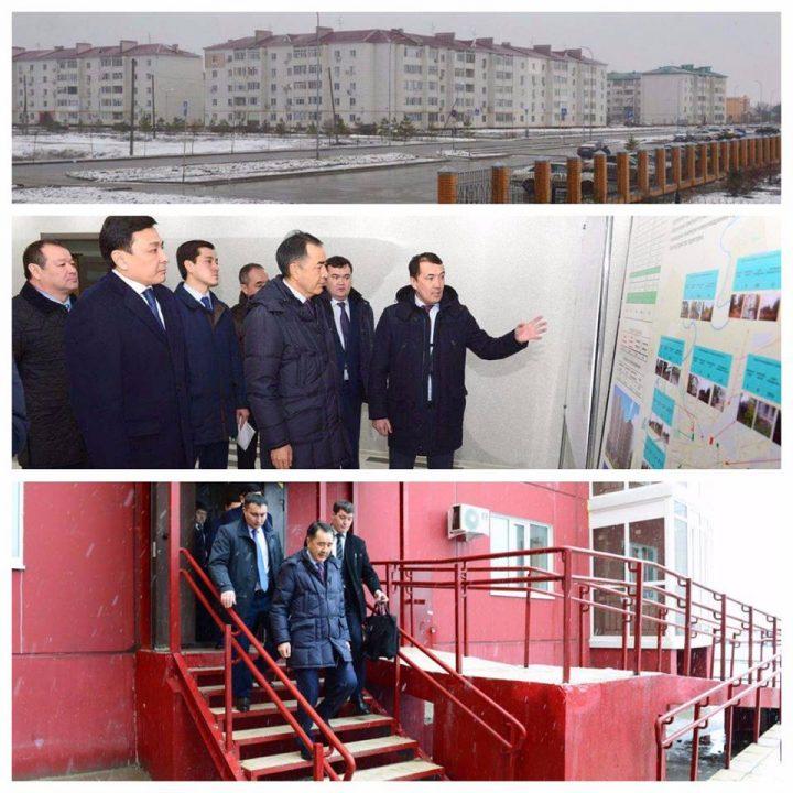 Сагинтаев в ЗКО, производство, модернизация 3.0, строительство, нурлы жер