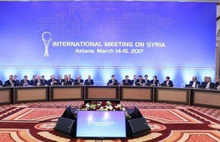 переговоры по Сирии в Астане 14-15 марта
