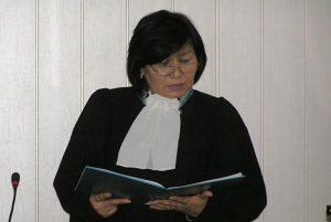 судья Казыбекбийского районного суда № 1 Караганды Жанат Егембердиева