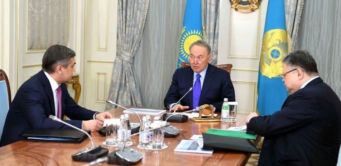 Назарбаев и Ермекбаев