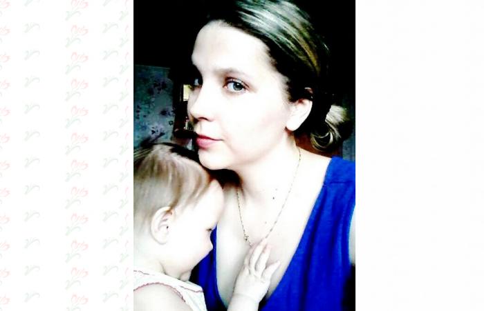 Юля Ахатова с матерью