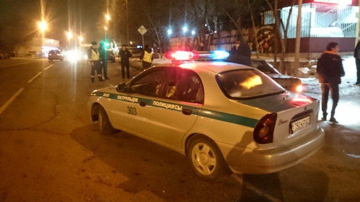 алматинская полиция, полицейская машина