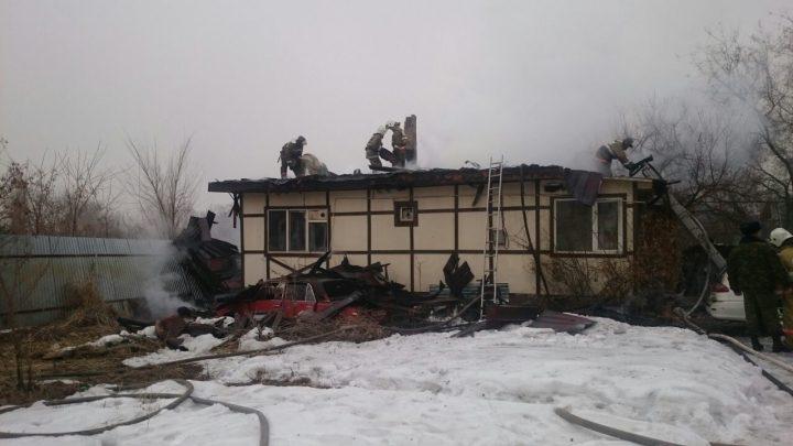 пожар в Алматы
