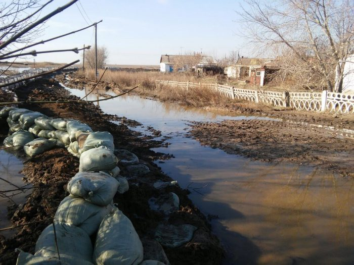паводок в карагандинской области